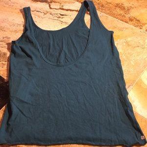 Alternative Apparel Tops - Alternative teal stretchy Camisole VGUC